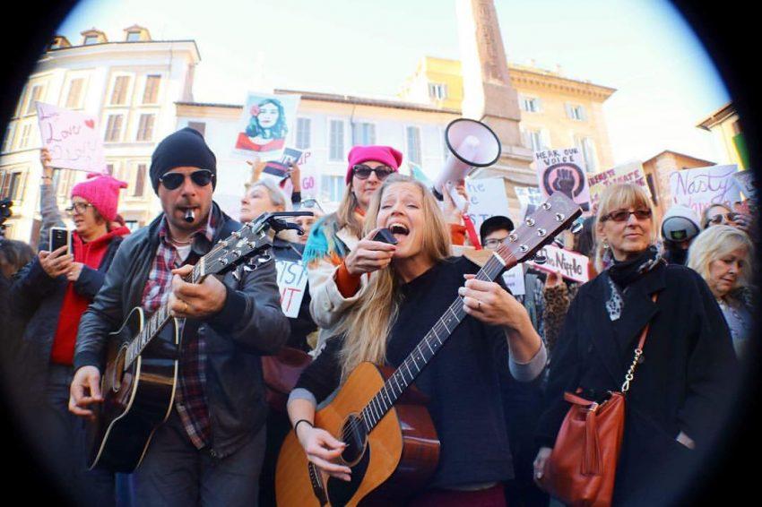 Women's March Rome