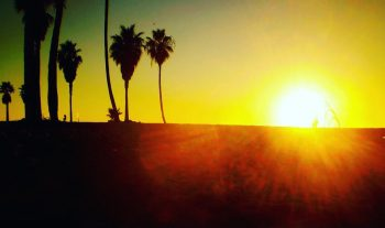 california sunset_afterglow